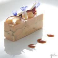 Foie gras de canard au condiment de sapin