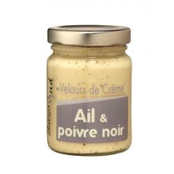 Velours de Crème Ail et Poivre Noir