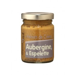 Velours de Crème Aubergine et Espelette