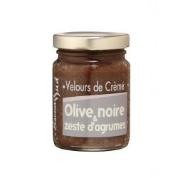 Velours de Crème Olives noires et Zeste d'Agrumes