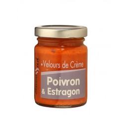Velours de Crème Poivron et Estragon