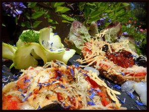 Les bruchetta sauce Acetis par Passiflore