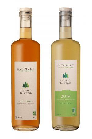 Duo de liqueur de sapin bio